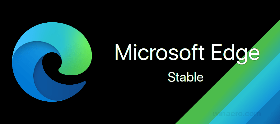 Microsoft Edge Stable Banner