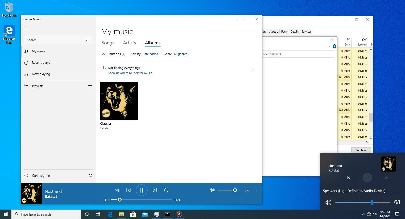Windows 10 Media Controls For Volume Slider Flyout (1)