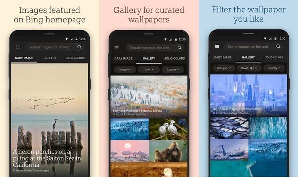 Bing Wallpaper Android App