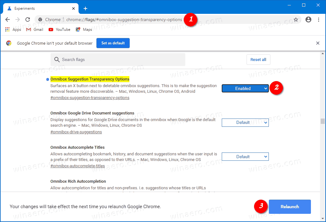 Chrome Enable Address Bar Suggestions Removal With Mouse
