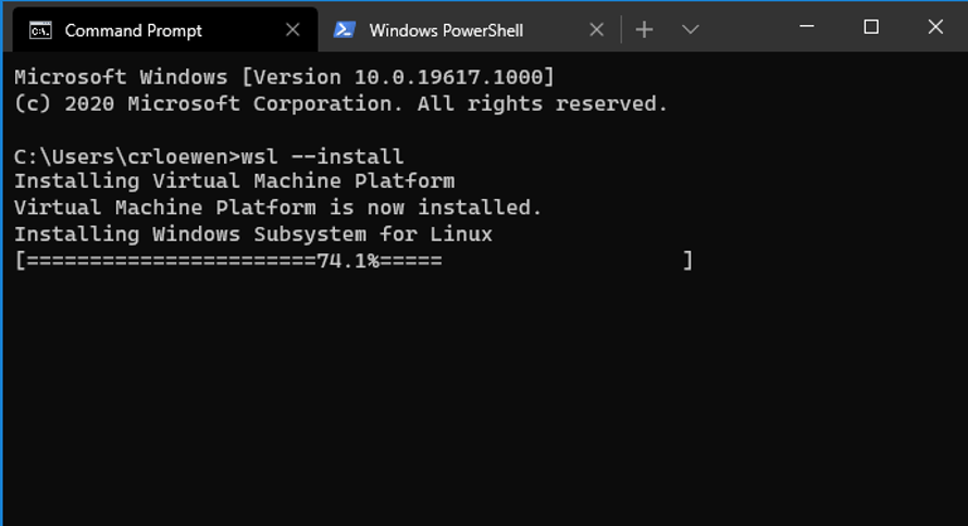 WSL Install