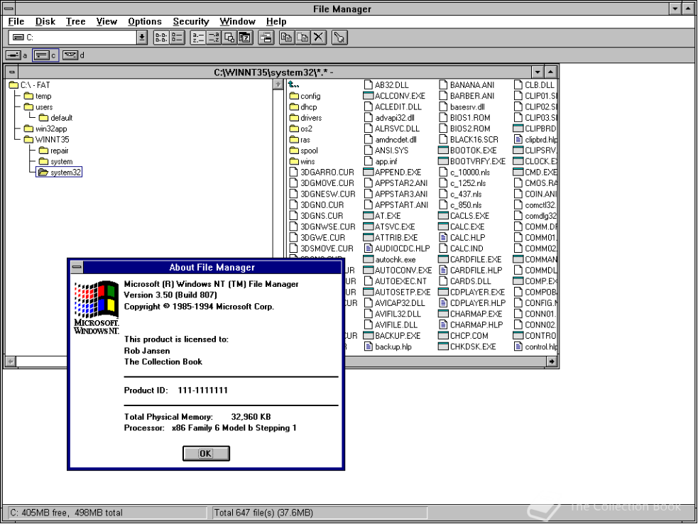 Windows NT 3.5 1