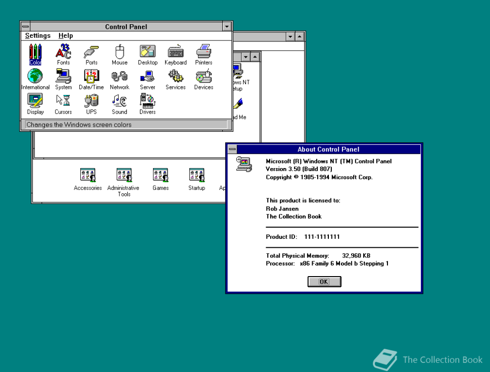 Windows NT 3.5 2