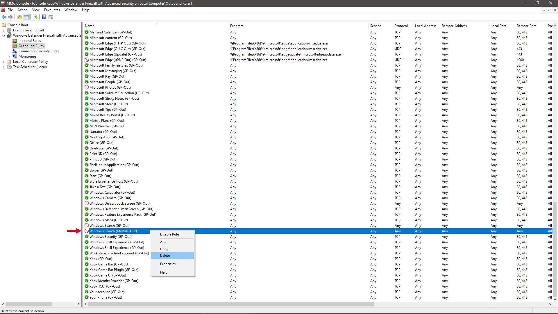 Block Windows 10 Version 2004 Web Search 2