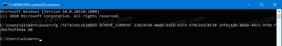 Change Sleep After Time In Command Prompt