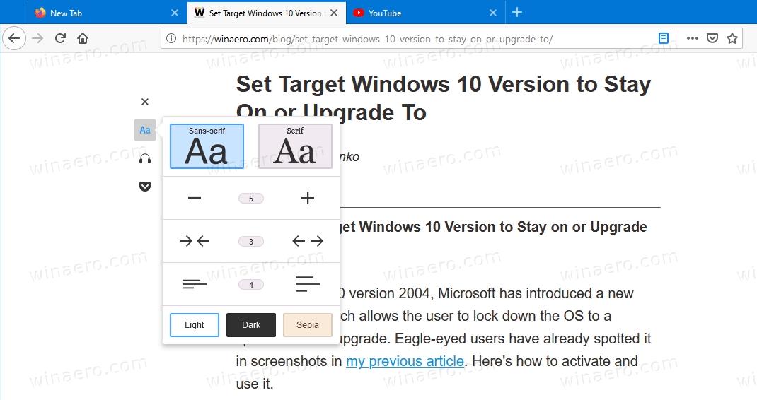 Firefox 78 PDF Reader Toolbar