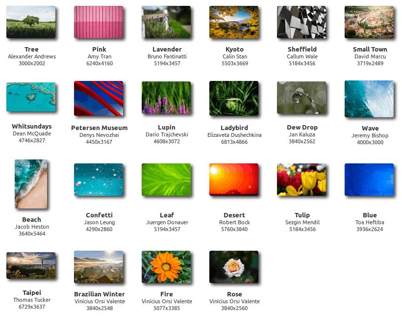 Linux Mint 20 Desktop Backgrounds