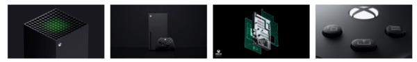 Xbox Series X Themepack Stripe