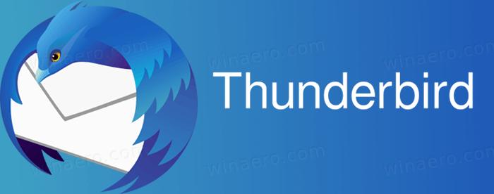 Mozilla Thunderbird Banner