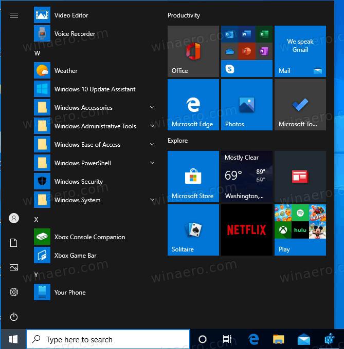 Windows 10 Old Folder Icons In Start Menu