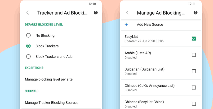 Android 3.2 Custom Blocker List Final