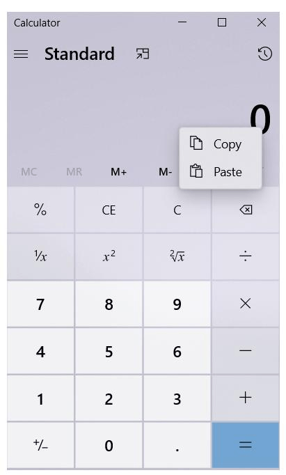 Calculartor App Rounded Corner