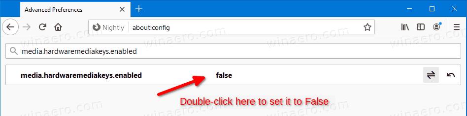 Mozilla Firefox Disable Media Controls