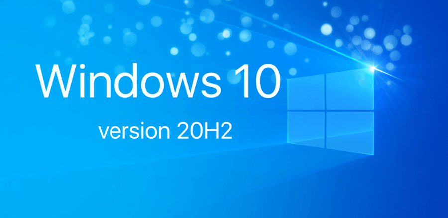 Windows 10 20H2 Banner