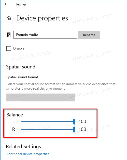 Windows 10 Change Lerf And Right Audio Balance In Settings