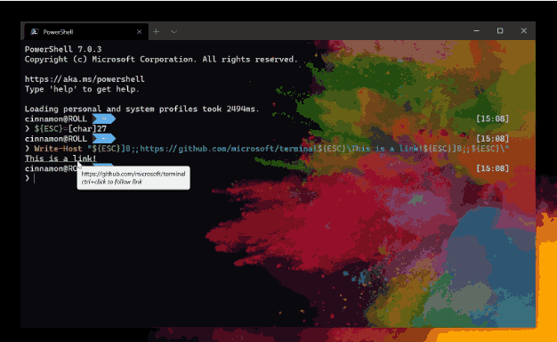Hyperlinks In Windows Terminal