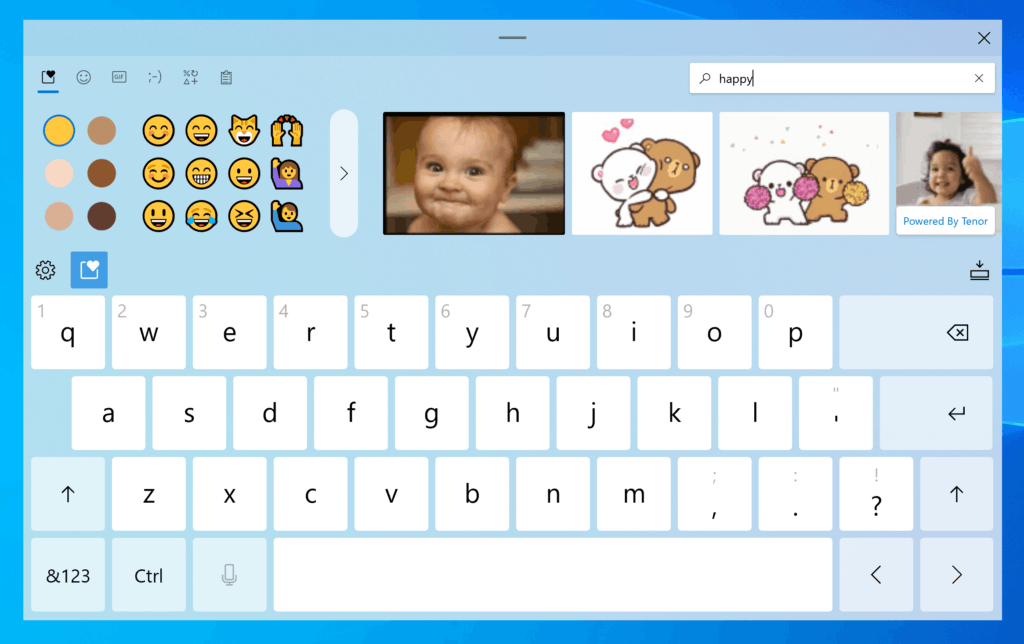 Touch Keyboard With Voice Typing Windows 10 Build 20206 2