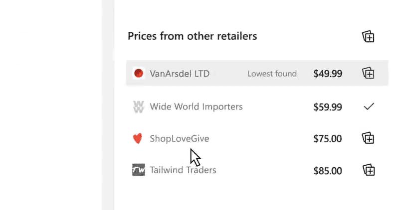 Edge Price Comparison In Collection