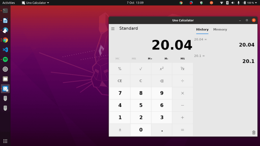 Windows Calculator On Linux