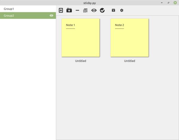 Sticky Notes App Linux Mint