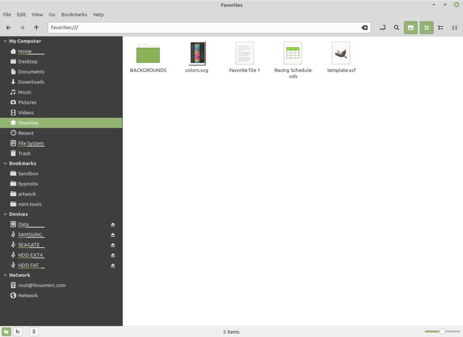 Linux Mint Fav2