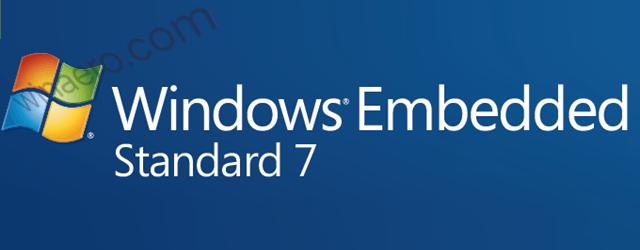 Windows 7 Embedded Standard Logo Banner