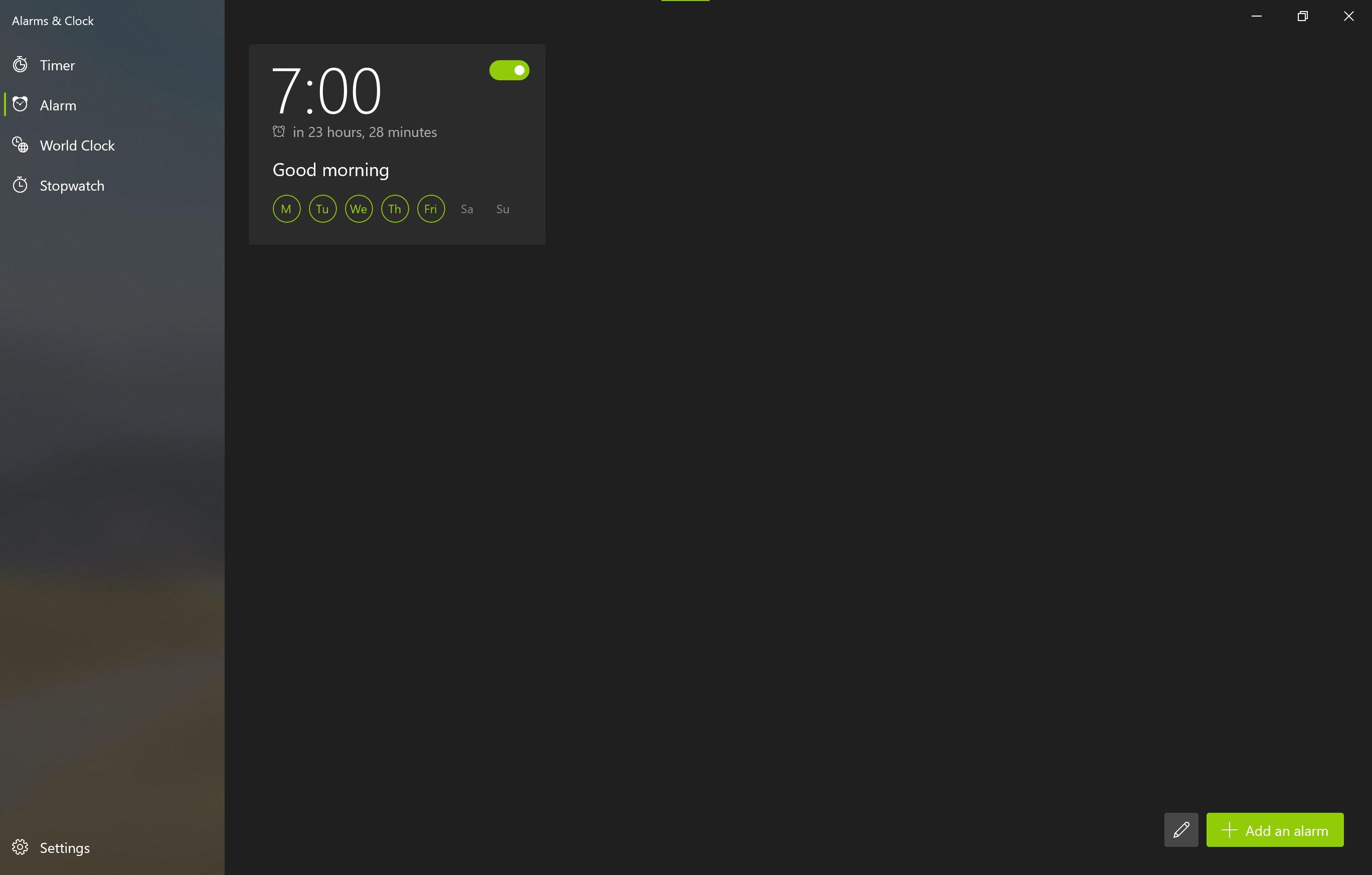 Alarms And Clocks Screenshot 4