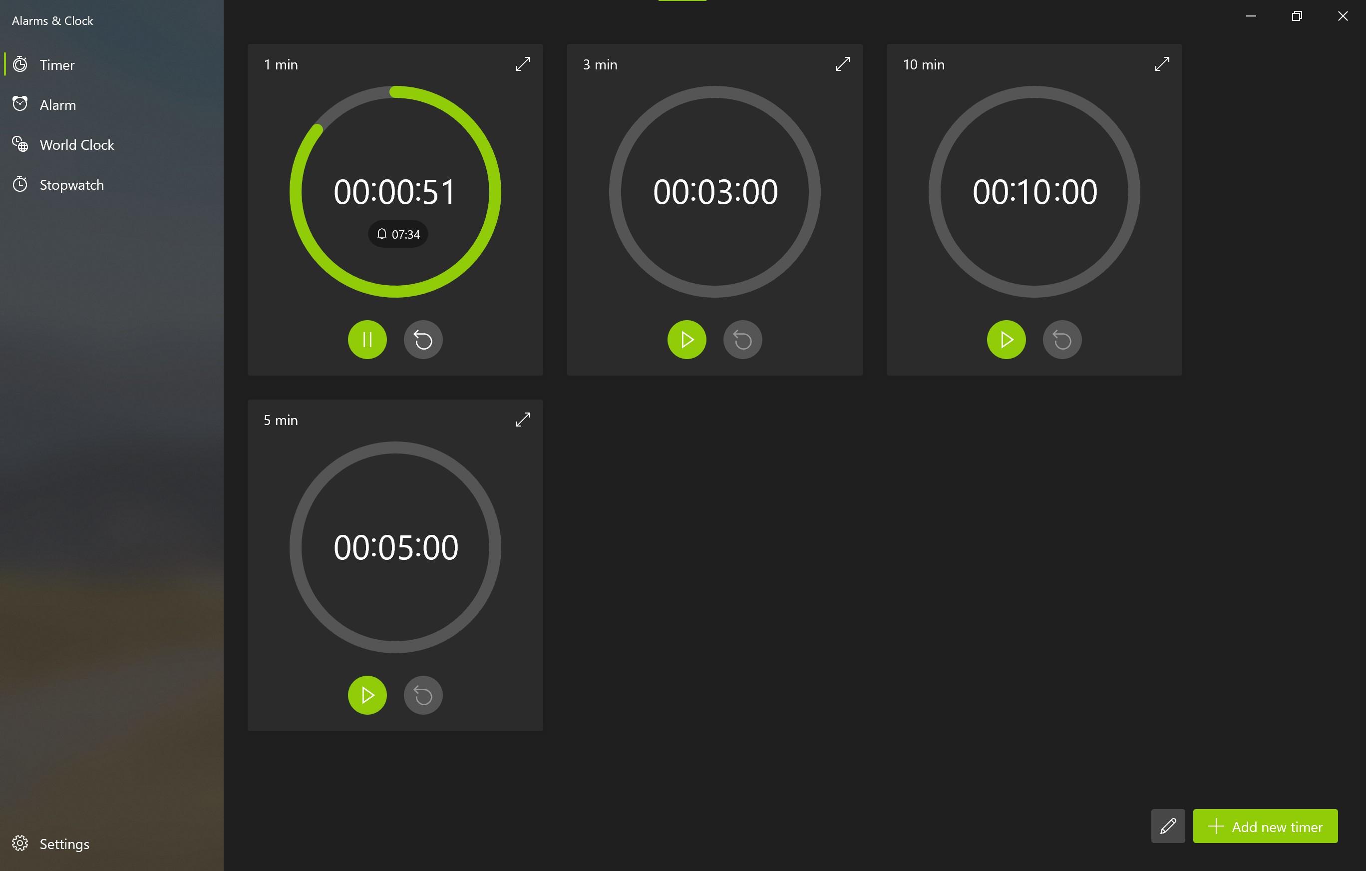 Alarms And Clocks Screenshot 6