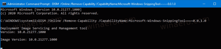 Windows 10 Uninstall Snipping Tool In Command Prompt