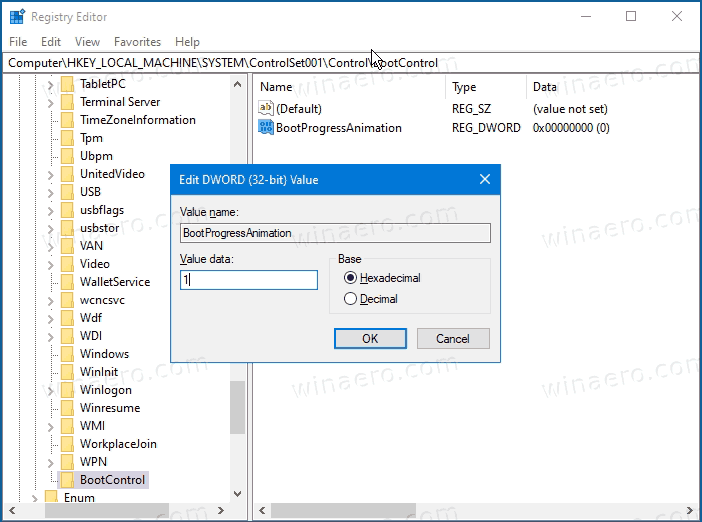 Enable Windows 10X Boot Logo In Windows 10