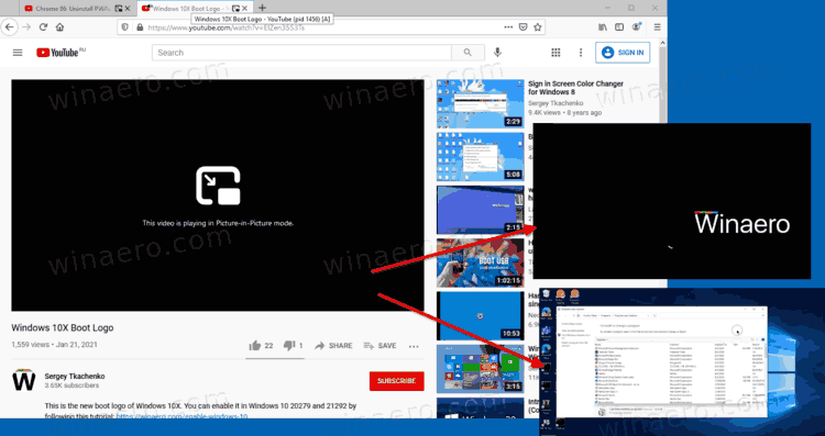 Open Multiple Picture-In-Picture Videos in Firefox