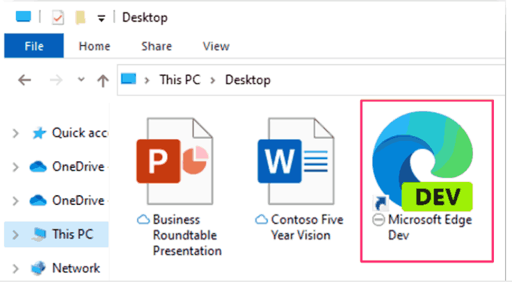 OneDrive Excluded File Overlay Icon