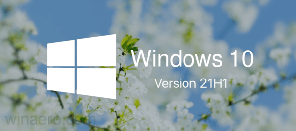 Windows 10 21H1 Banner