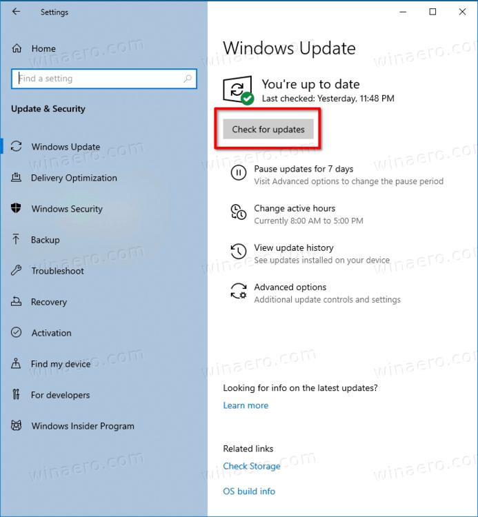 install Linux kernel update for WSL 2