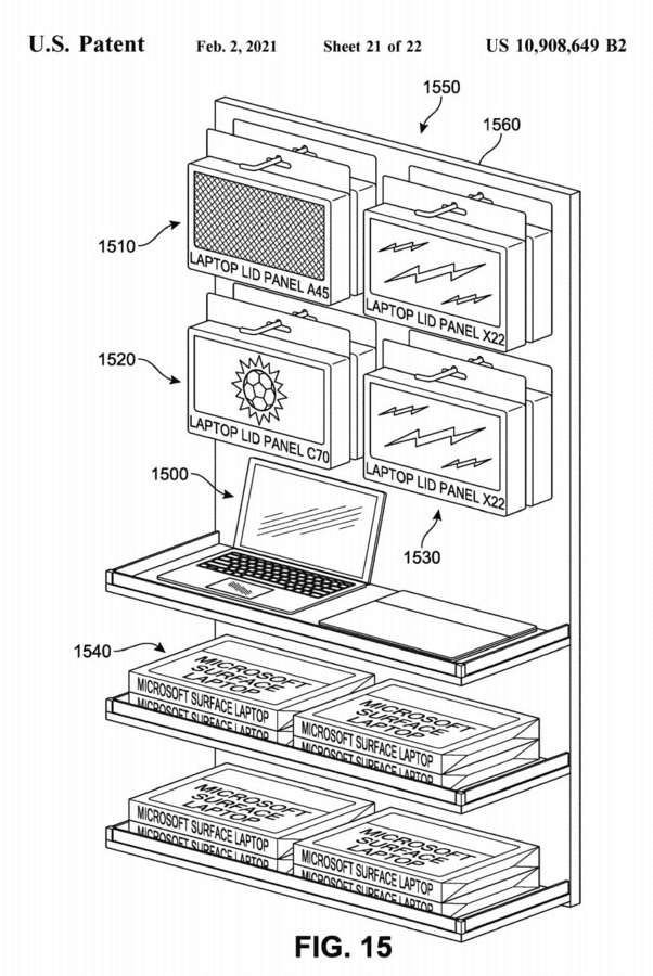 Surface Laptop Panels Patent (1)