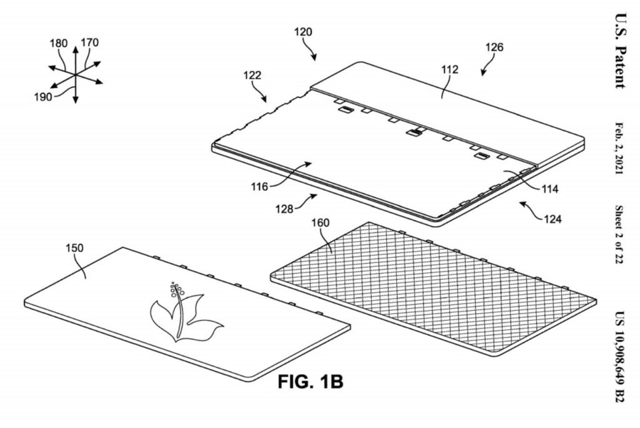 Surface Laptop Panels Patent (2)