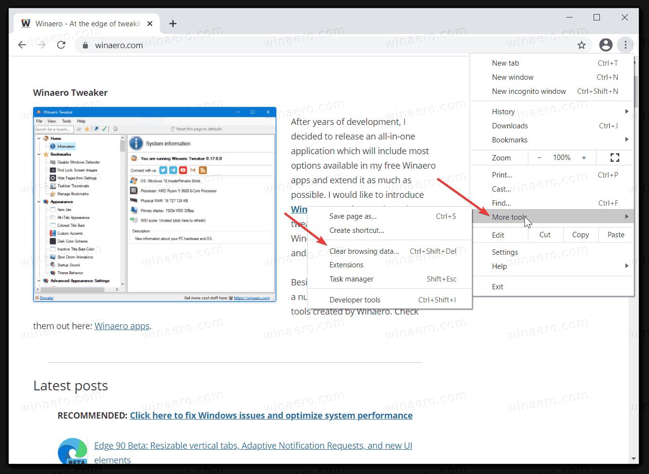 Fix Chrome Freezes When Typing Text 1