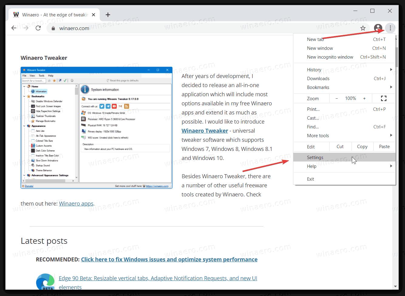 Fix Chrome Freezes When Typing Text 3