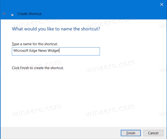 Name Your Shortcut