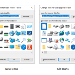 Microsoft finally removes ancient Windows 95-era icons from Windows 10