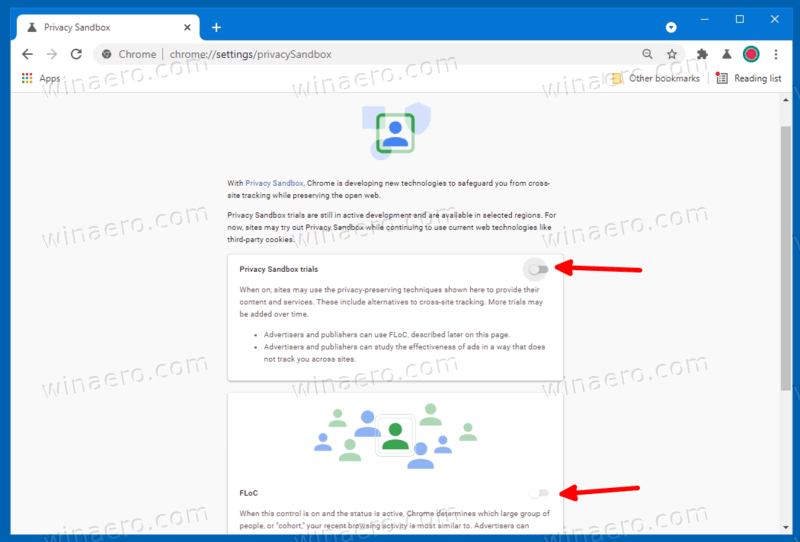 Disable FLoC In Google Chrome 2