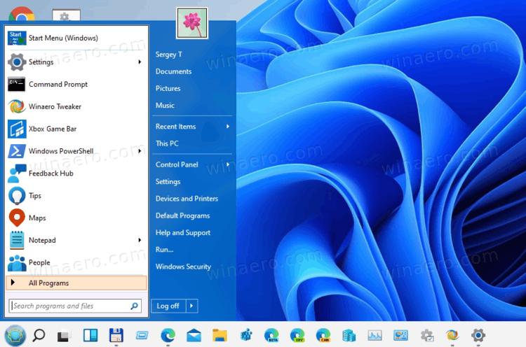 Open Shell Classic Start Menu In Windows 11