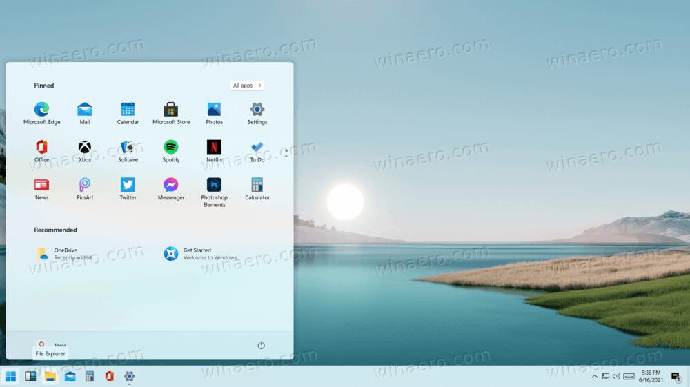 Windows 11 Disable Centered Taskbar