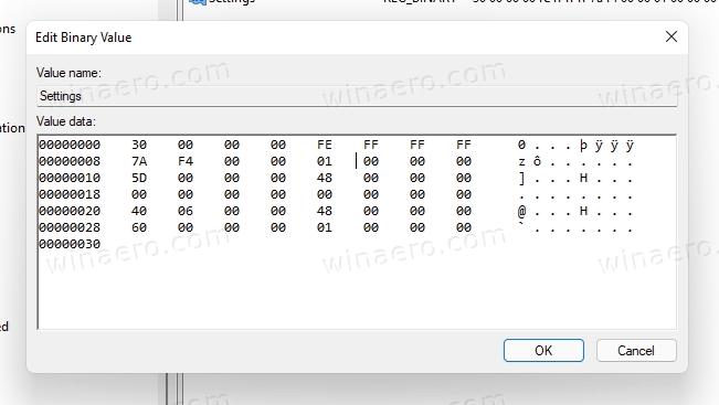 type 01 instead of 03