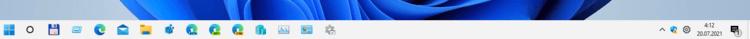 Restore Classic Taskbar In Windows 11
