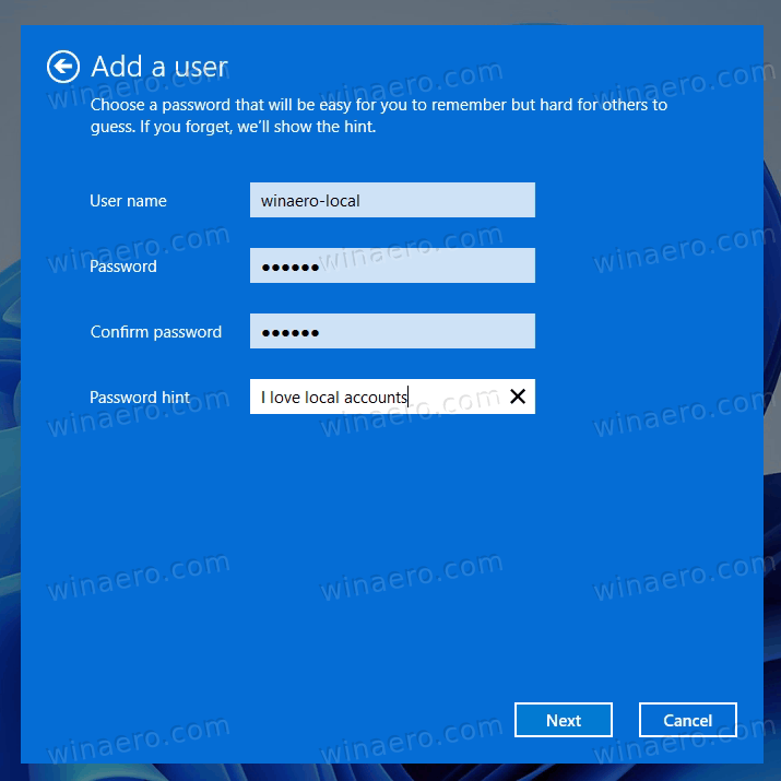 Create A Local Account In Windows 11 With Netplwiz