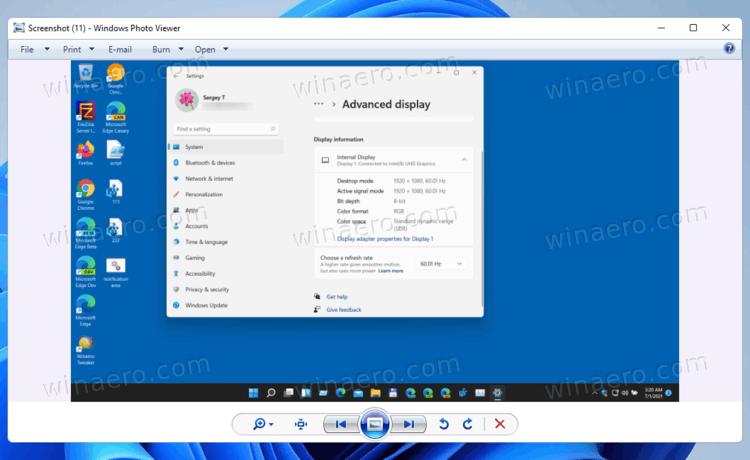 Restore Windows Photo Viewer In Windows 11