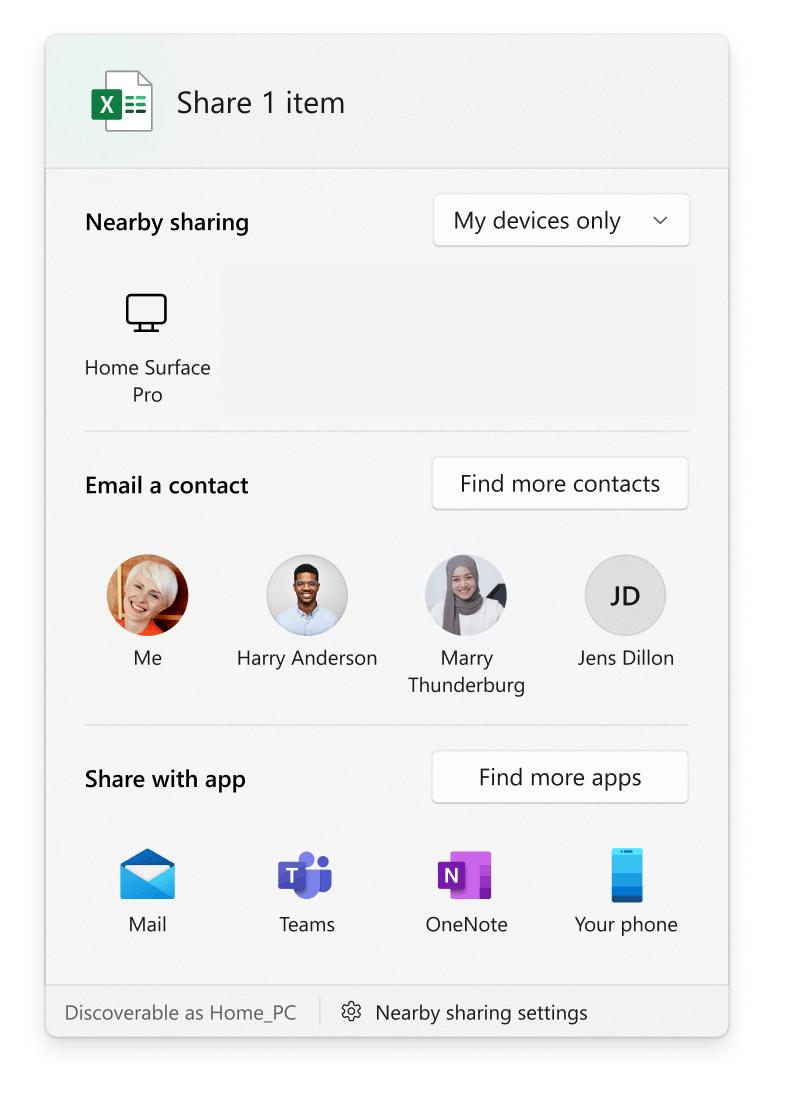 Share Dialog