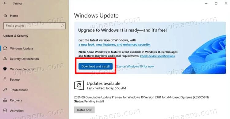 Windows 11 Settings Windows Update
