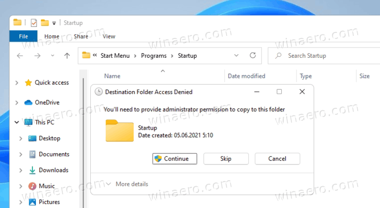 Windows 11 Apps To Startup Folder For All Users